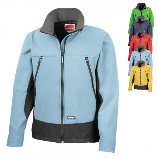 RT120 Result Activity Softshell Jacket