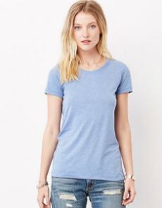Bella Triblend Crew Neck T-Shirt Woman