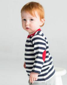 Babybugz Baby Stripy Long Sleeve T BZ38