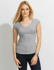 SOL'S Womens Mod V-Neck T-Shirt L158