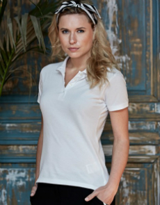 Tee Jays Ladies Heavy Polo Piqué TJ1401