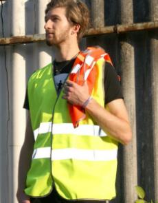 X111 Sicherheits-Warnweste EN ISO 20471