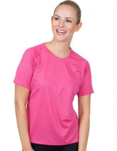 CONA SPORTS Ladies Rainbow Tech Tee CN130
