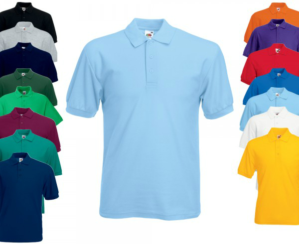 Fruit of the Loom 65 35 Piqué Polo