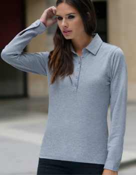 sf-women-ladies-long-sleeved-stretch-polo-sf44
