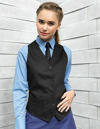 premier-workwear-damen-gastro-weste-pw621