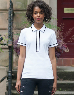 sf-women-ladies-contrast-piped-stretch-polo-shirt-sf48