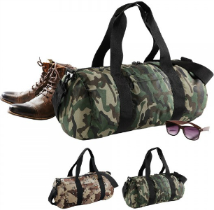 BagBase Camouflage Barrel Bag BG173