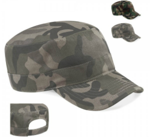 Beechfield Camo Army Cap CB33