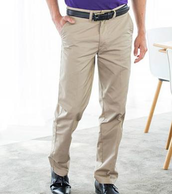 Henbury Men's 65 35 Chino Trousers W640