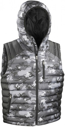Result Urban Camo Gilet RT404
