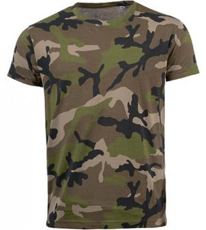 SOLS Mens Camo T-Shirt L133