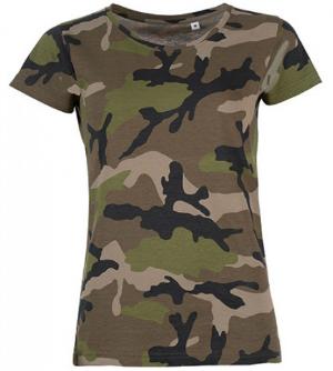 SOLS Womens Camo T-Shirt L134