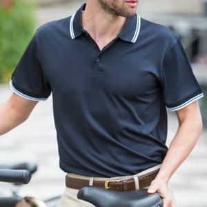 Henbury Kurzarm Polo Shirt für Herren W482