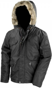 Result Ultimate Parka Cyclone Farbe schwarz RT73