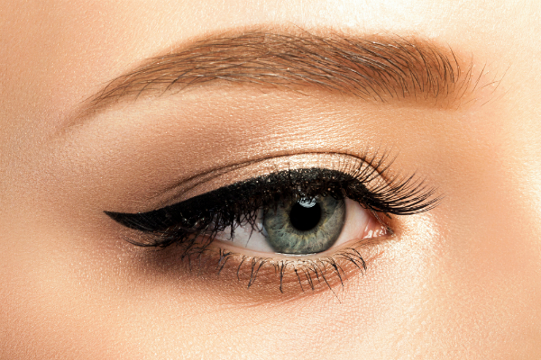 Augen Sommer Make-up