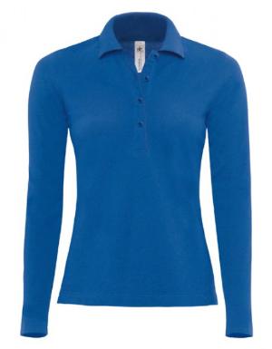 BC Langarm-Poloshirt Safran Pure Damen BCPW456