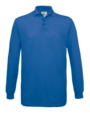 BC Langarm-Poloshirt Safran Unisex BCPU414