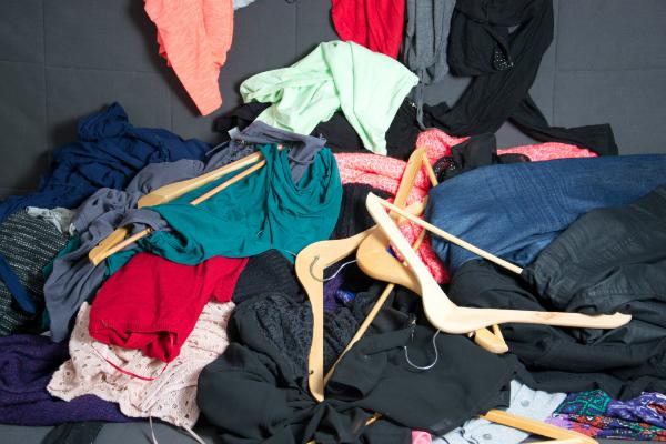 Kleidung ausmisten