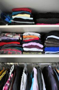 Kleidung richtig aufbewahren