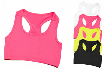 Just Cool Girlie Cool Sports Crop Top JC017
