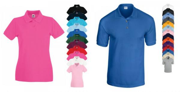 Poloshirts für das 80er Outfit