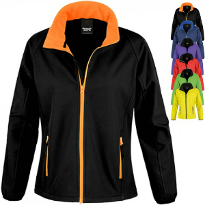 Result Core Ladies Printable Soft Shell Jacket RT231F