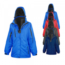 Result Ladies 3 in 1 Softshell Journey Jacket
