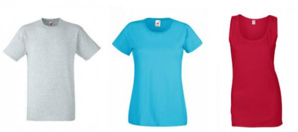 Shirts in verschiedenen Farben