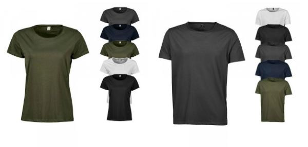 T-Shirts in verschiedenen Military Farben für Sie und Ihn