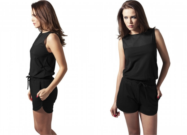 Ladies Tech Mesh Hot Jumpsuit