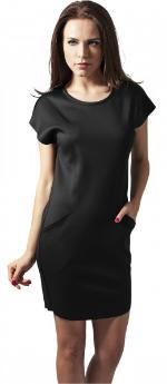 Scuba-Kleid mit kastigem Schnitt