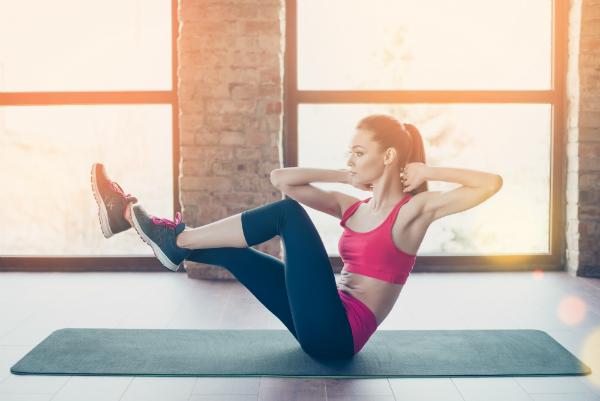 Sport erfrischt Körper und Geist