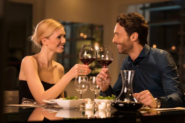 Das klassische Date im Restaurant