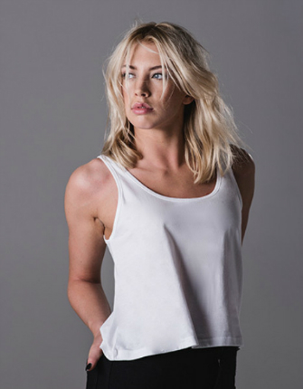 Mantis Womens Crop Vest Organic P127
