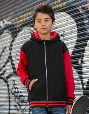 Just Hoods Kids Urban Varsity Zoodie