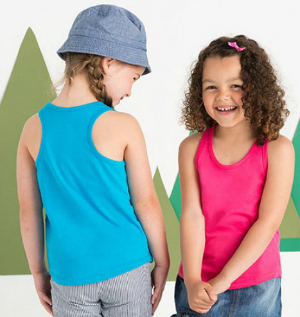 Mantis Mini Girls Racerback Tank Vest