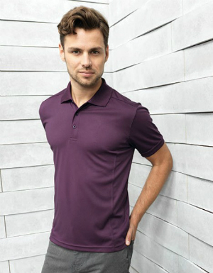 Premier Workwear Mens Coolchecker Pique Polo PW615