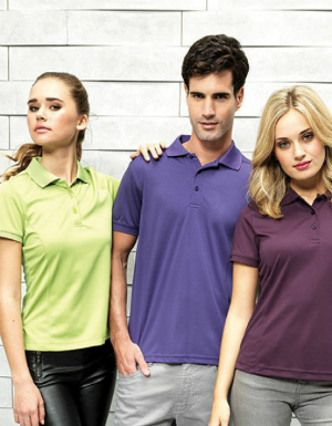 Premier Workwear Womens Coolchecker Pique Polo PW616