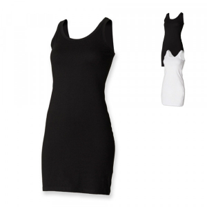 SF Women Ladies Stretch Vest Dress SF104