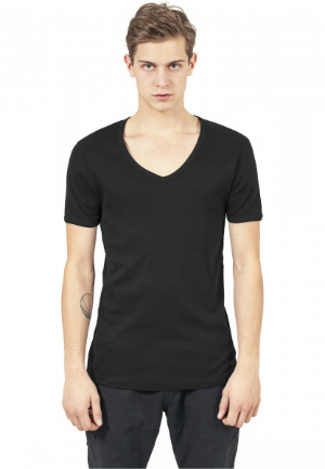 Slim 1by1 V-Neck Tee