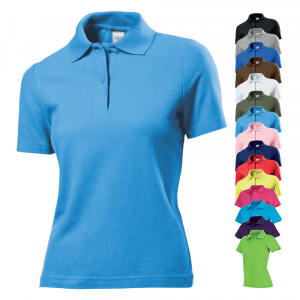 Stedman® Short Sleeve Polo for women