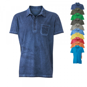 James+Nicholson Mens Gipsy Polo