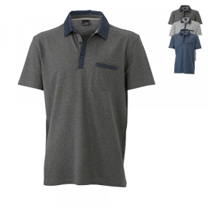 James+Nicholson Mens Polo