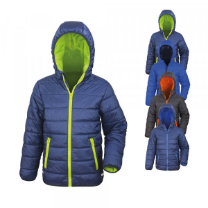 Core Youth Padded Jacket von Result