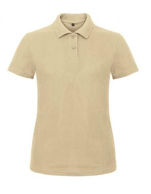 Damen Poloshirt von BC Farbe Beige