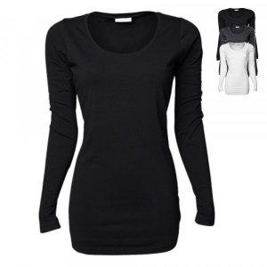 Tee Jays Ladies Stretch Long Sleeve Extra Long TJ457