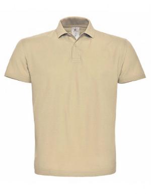 Unisex Poloshirt von BC Farbe Beige