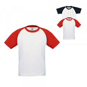 BC T-Shirt Base-Ball fuer Kinder