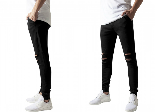 Cutted Terry Pants von URBAN CLASSICS